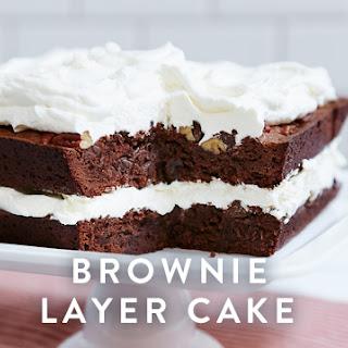 Brownie Layer Cake.