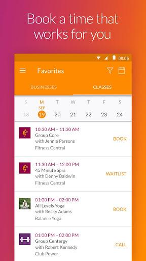 MINDBODY - Fitness & Wellness Screenshot