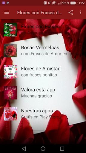 Flores Con Frases De Amor Aplicaciones En Google Play