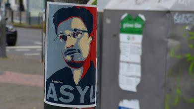 Photo: ASYL Snowden; Unknown Artist