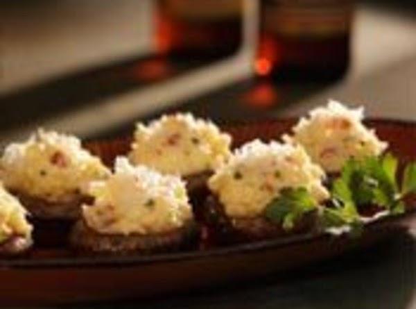 Cute As A Buttom, Tater Stuffed Mushrooms Recipe
