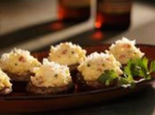 Cute As A Buttom, Tater Stuffed Mushrooms Recipe