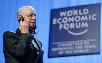 Photo: DAVOS/SWITZERLAND, 27JAN07 - Klaus Schwab, Founder and Executive Chairman, World Economic Forum, captured at the 'Presentation of the Crystal Award' at the Annual Meeting 2007 of the World Economic Forum in Davos, Switzerland, January 27, 2007.  Copyright by World Economic Forum    swiss-image.ch/Photo by Remy Steinegger  +++No resale, no archive+++