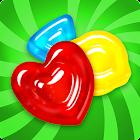 Gummy Drop! Quebra-cabeças e combine 3 grátis icon