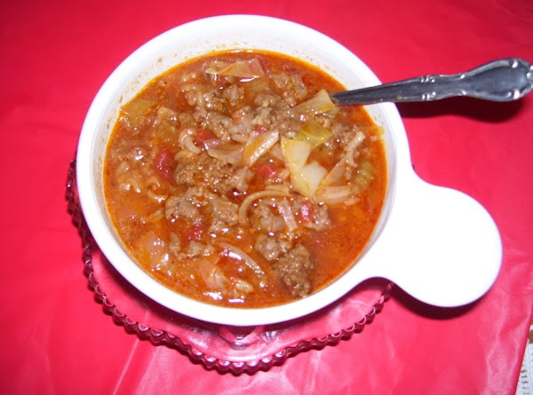 Cabbage Roll Soup By Freda Recipe