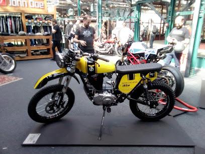 2018 Bike Shed Show at Tobacco Dock