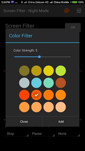 Screen Filter-Night Mode