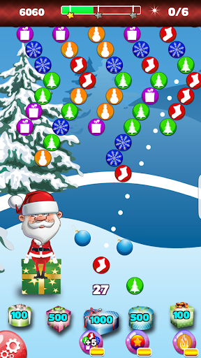 Save Santa Bubble Shooter