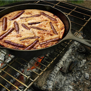 Campfire Breakfast Toad in the Hole.