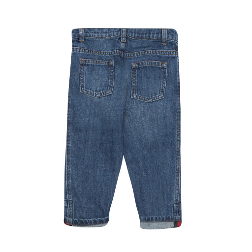 Thumbnail images of Gucci Washed Denim Jean