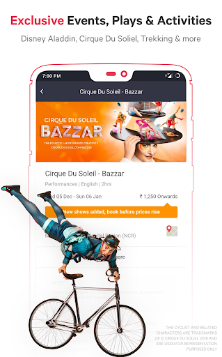BookMyShow - Movies, Events & Sports Match Tickets  screenshots 5