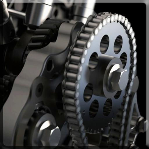 摩托车发动机视频动态壁纸 個人化 App LOGO-APP試玩