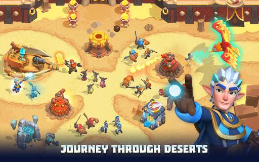 Wild Sky TD: Tower Defense Legends in Sky Kingdom filehippodl screenshot 3