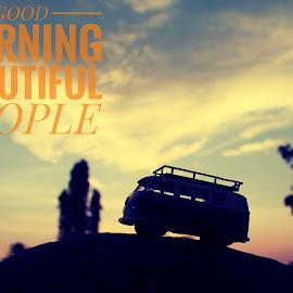 Broken Sunrise by Suryo Pandoyo - Typography Captioned Photos