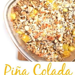 Piña Colada Baked Oatmeal