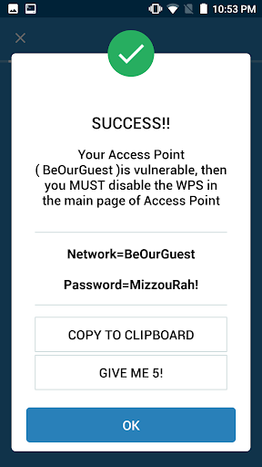 WIFI WPS WPA TESTER 4.0.1 Screenshots 7