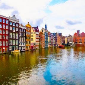 Amsterdam by Pravine Chester - City,  Street & Park  Vistas ( vistas, amsterdam, places, photography, city )