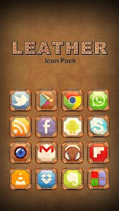Leather Theme Icon Pack v1.0.0