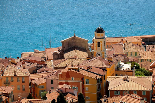 France-Villefranche-old-town.jpg - The old town of Villefranche sur Mer, France.