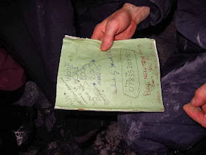 Photo: Woof Cave visitors book!