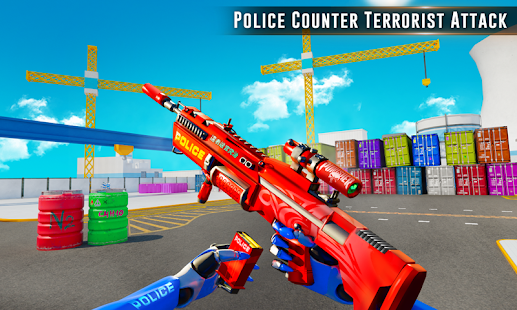 Counter Terrorist Police Robot FPS Shooting Games - náhled