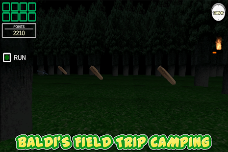 Balding Field Trip: Camping Screenshot