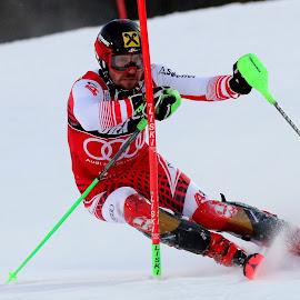Marcel Hirscher by Igor Martinšek - Sports & Fitness Snow Sports