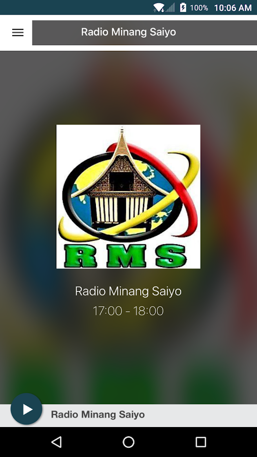 Radio Minang Saiyo- screenshot