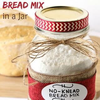 DIY No-Knead Bread Mix in a Jar
