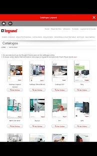 LEGRAND CHILE- screenshot thumbnail