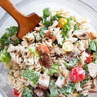 Gluten-Free Chicken Caesar Pasta Salad Recipe