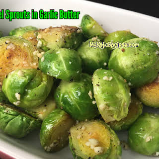 Brussels Sprouts In Garlic Butter.