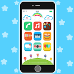 Baby Real Phone. Kids Game Icon