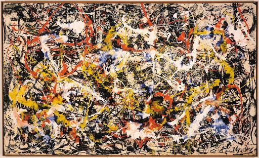 Convergence - Jackson Pollock - Google Arts & Culture