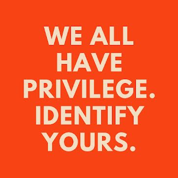 Identify One's Privilege - Instagram Post Template