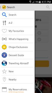 Chope Restaurant Reservations- screenshot thumbnail