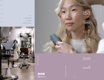 Lesalon - Business Brochure template