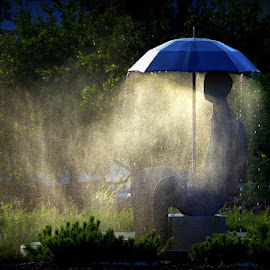 »Monument to Bohinj Weather« Bohinjska Bistrica  by Donat Piber - Artistic Objects Other Objects ( rain, weather, monument )