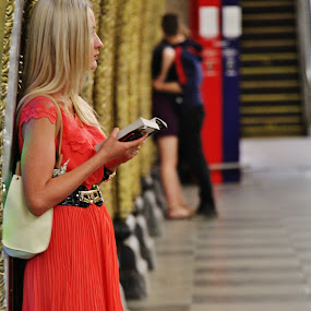 Fiction & Reality @ Moscow Metro by João Branquinho - People Street & Candids ( passenger, russia, moscovo, subway, metro, moscow, underground )