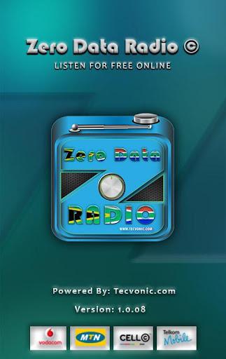 Zero Data Radio 1.0.08 screenshots 1