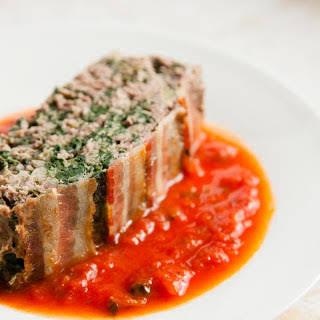 Spinach Meatloaf.