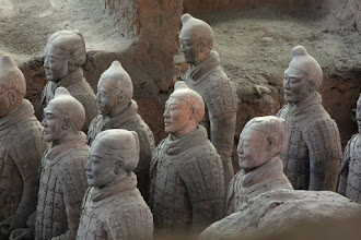 Photo: Day 188 -  Terracotta Warriors in Xi'an  Pit 1 #16