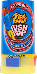 Push Pop Triple Power Candy - 34g