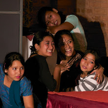 Photo: These young girls have been through harrowing times - another of Philip's photos at Esther Benjamins Trust