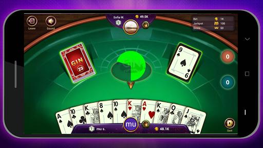 Gin Rummy Online - Free Card Game 1.1.1 screenshots 5