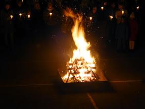 Photo: Das große Osterfeuer