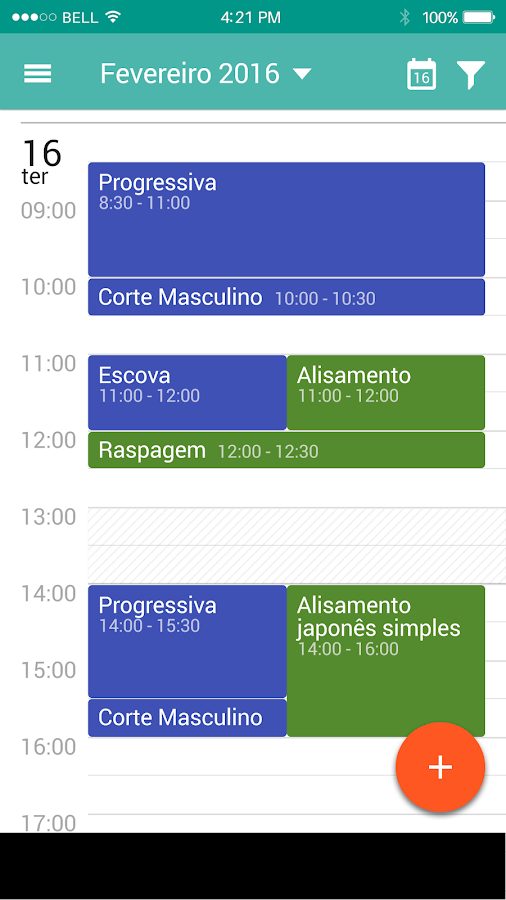 Calendrier- screenshot