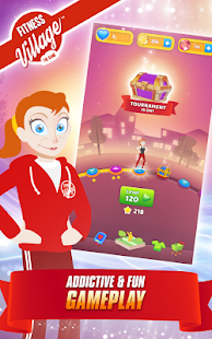 Fitness Village - The Game Screenshot