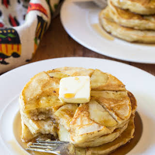 Apple Ricotta Pancakes.