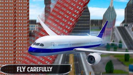 vol d'avion simulateur de vol 3D APK MOD – Monnaie Illimitées (Astuce) screenshots hack proof 2